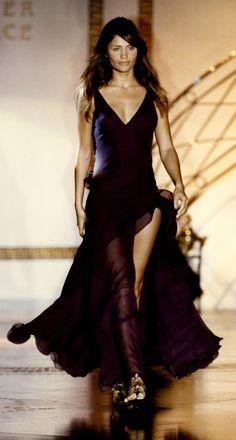 Helena Christensen - Atelier Versace,  Spring/Summer 1993