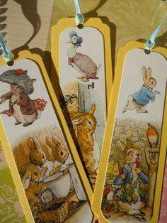 Beatrix Potter bookmarks
