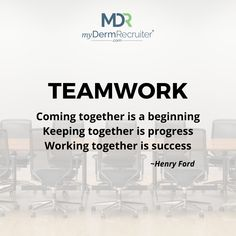 Nothing guarantees the success of your practice like having a robust team culture grounded in trust and transparency. An amazing culture makes working so much easier! #Dermatology #DedicatedToDerm #DermatologyRecruiters #JobsInDermatology #Derm