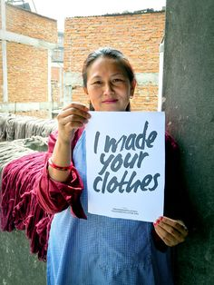 Fashion Revolution Week: Who made my clothes? Fast Fashion, Vegan Fashion, Slow Fashion, Kids Clothing Brands, Ethical Clothing, Sustainable Clothing, Sustainable Fashion, Sustainable Living, Sustainable Style