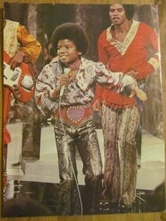 Michael Jackson, The Jackson Five, Full Page Vintage Pinup