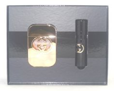 Gucci Guilty Set for Women: 0.5 oz (15ML) Purse Spray + 2.5 oz. Eau De Toilette Spray by Gucci. $79.99. Gucci Guilty Set for Women: 0.5 oz (15ML) Purse Spray + 2.5 oz. Eau De Toilette Spray. Gucci Guilty Set for Women: 0.5 oz (15ML) Purse Spray + 2.5 oz. Eau De Toilette Spray For important information, see About Seller