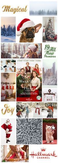 """Make your Christmas magical with the premiere of """"When Calls the Heart Christmas,"""" Sunday December 25 8/7c!"""