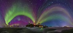 APOD: 2016 April 8 - Lapland Northern Lights