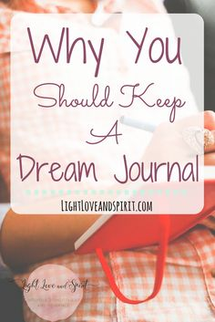 Do you have vivivd dreams? They may be trying to tell you something! Try keeping a dream journal, learn why you should here!