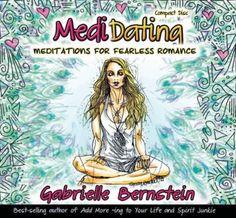 Medidating: Meditations for Fearless Romance Audiobook CD  Gabrielle Bernstein