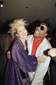 Cyndi Lauper and Little Richard