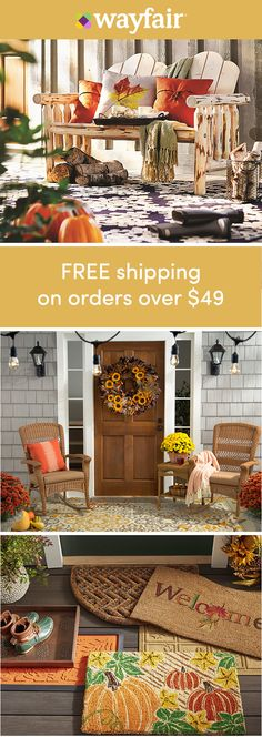 Decorating doorways: Sign up for access to exclusive sales, plus new arrivals everyday! Doorway, meet décor. Score the best prices on everything you need to get your home ready for the new season, from door pins to wreaths. Enjoy FREE shipping on all orders over $49 at Wayfair.