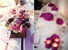 Las bolitas se pueden combinar para no tener tantas flores.
