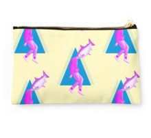 """""""A perfect day for bananafish"""" Studio Pouch by Laura Nadeszhda"""