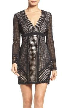 Free shipping and returns on Bardot Lidia Lace Minidress at Nordstrom.com. Thoughtful panels create a saucy hourglass silhouette in this leggy LBD crafted from geometric cotton lace for a contemporary twist.