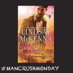 Shadow Warriors Volume 3 by Lindsay McKenna feat. cover model Nick Bateman