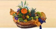 Natale+fiori,+piante+ed+orto+nei+cesti