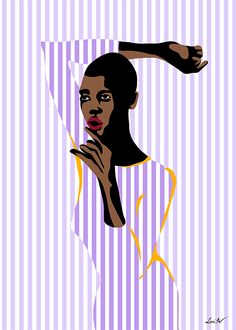 """""""Violet"""" / Digital / Any digital size (3:4) / lentov 