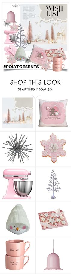 """""""#PolyPresents: Wish List"""" by riza-villareal ❤ liked on Polyvore featuring interior, interiors, interior design, home, home decor, interior decorating, KitchenAid, Moooi, kitchen and contestentry"""