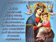 Imagine: O SAPTAMANA BINECUVANTATA! - de gardenia -lista de prieteni ... Hail Mary, Beautiful Day, Baseball Cards, Google, Cots, Pictures, Quotes