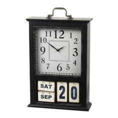 Calendar Date Clock
