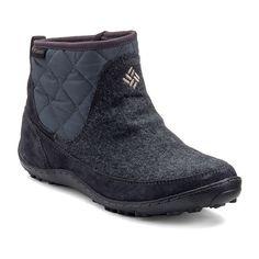 Columbia Crystal Shorty Women's Waterproof Slip-On Winter Boots, Size: