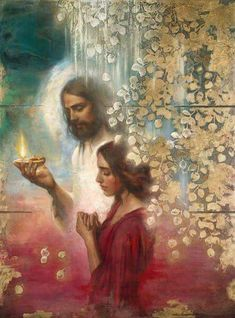 Jesus will never forsake me; the Light of the world always walks with me; Jesus is my guiding light, and He is my source of life. Images Du Christ, Pictures Of Jesus Christ, Catholic Pictures, Lds Art, Bible Art, Catholic Art, Religious Art, Braut Christi, Image Jesus