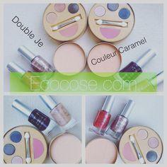 La collezione Double Je Couleur Caramel: 2 palette di ombretti in crema e fard in crema (Kit Flash Make-up), 2 ciprie minerali compatte (Poudre Precieuse), 4 rossetti, 2 matite occhi, 4 smalti! Online su Ecocose in Edizione limitata! ❤️ #ecobio #ecocose #ecobiocosmesi #makeup #couleurcaramel #doubleje #edizionelimitata #bio #trucco In OMAGGIO con ogni kit flash make-up e ogni poudre precieuse acquistati 2 salviette struccanti lavabili in cotone bio Couleur Caramel!