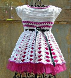 free pattern crochet baby/toddler dress