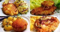 Slovenské perky s povidly a mákem Czech Recipes, Ethnic Recipes, Pecan Pralines, Salty Foods, Baked Potato, Ale, Spicy, Foodies, Good Food