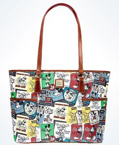 Disney Dooney Bourke Mickey Tote New With Tags