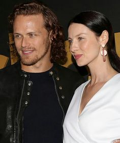 """outlander-news: """" Sam Heughan and Caitriona Balfe attend the STARZ Pre-Golden Globe Celebration at Chateau Marmont Outlander News, Sam Heughan Outlander, Serie Outlander, Diana Gabaldon Outlander Series, Sam Heughan Caitriona Balfe, Outlander Casting, Outlander 2016, Claire Fraser, Jamie And Claire"""