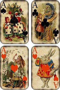Vintage inspired Alice in Wonderland small note cards set of 8 with envelopes Alice In Wonderland Aesthetic, Alice In Wonderland Vintage, Alice In Wonderland Illustrations, Alice In Wonderland Tea Party, Adventures In Wonderland, Alice In Wonderland Artwork, Kunstjournal Inspiration, Illustrations Vintage, Playing Cards Art