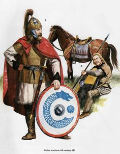 Ostrogoths | Tripping Through the Gene Pool: Ardaric, King of the Ostrogoths