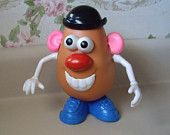 Large size Mr. Potato Head Toy from the 1980s