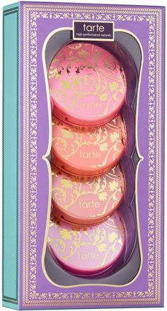 Chic To Cheek Deluxe Amazonian Clay Blush Set is an exclusive deluxe gift set featuring Tarte's award-winning, celebrity-favorite blushes in 4 limited-edition shades. A $56 value!.