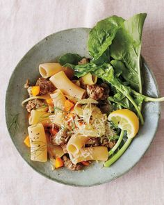 Rigatoni with Sausage and Fennel