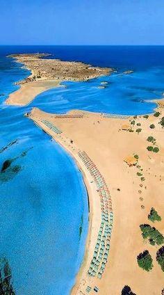 lifeissuchabeach:  Elafonissi Beach, Crete Island, Greece