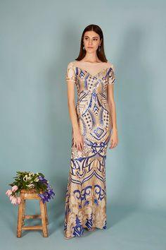VESTIDO MEGAN| Teria Yabar Primavera Verano 2020 Dresses, Fashion, Vestidos, Spring Summer, Feminine, Moda, Fashion Styles, Dress, Fashion Illustrations