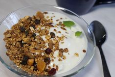 IMG_1966 Granola, Cereal, Oatmeal, Breakfast, Food, Breakfast Cafe, Muesli, Essen, Yemek