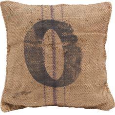 vintage sack pillow 0