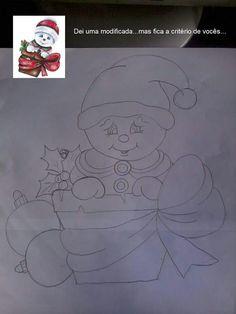 Boneco de neve Christmas Yard Art, Christmas Paper Crafts, Christmas Drawing, Christmas Paintings, Diy Christmas Ornaments, Christmas Signs, Christmas Decorations To Make, Christmas Pictures, Christmas Colors