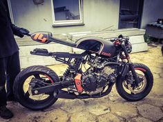 Honda Hornet 600 by Cardsharper Customs