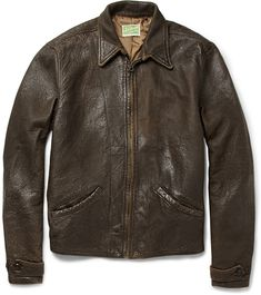 James Bond (Daniel Craig) wears a brown Levi's® Vintage Clothing 1930s Menlo Leather Jacket in the movie SkyFall. Bond wears the jacket when he has a more rugged look (stubble beard, casual wear).