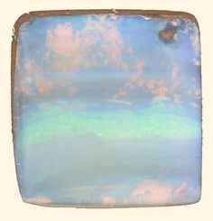 Clouds in a Boulder Opal.. cut by Bill Kasso, set and sold as a gorgeous pendant at The Jewelbox in Ithaca, NY!