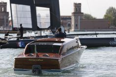 The classic wood water taxi  Venice (ITA) - 34th America's Cup - America's Cup World Series Venice 2012
