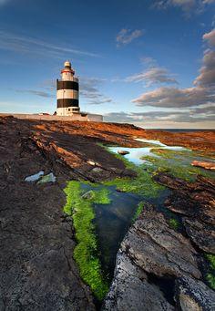 Hook Lighthouse/Hook Head Lighthouse, Co. Wexford, Ireland.