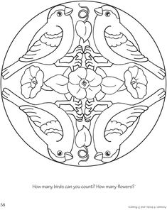 Welcome to Dover Publications Mandalas Coloring Book