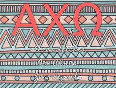 Alpha Chi Omega , Three Letters, One Choice, Zero Regrets