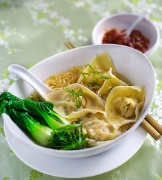 Recipe for Wonton Noodle Soup