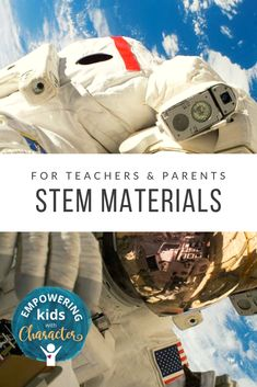 STEM Materials for teachers and parents to take your child's learning to a new level! Spend your summer exploring Science and Technology,, and building relationships with your children. #STEM #materialsforSTEM #STEMIdeas