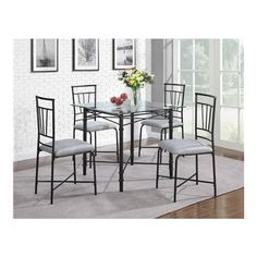 Percival 5 Piece Dining Set #birchlane
