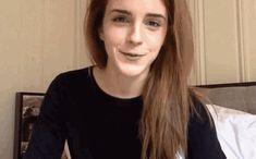 Emma Watson Is Adorably Awkward Promoting International Women's Day