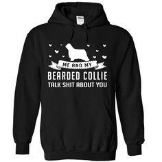 Bearded Collie - #white tee #womens tee. Bearded Collie, christmas sweater,cream sweater. TAKE IT =>...